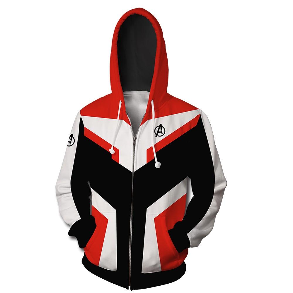 2019 new Marvel Avengers 4 Quantum Warrior Concept 3D Sweater Hoodie