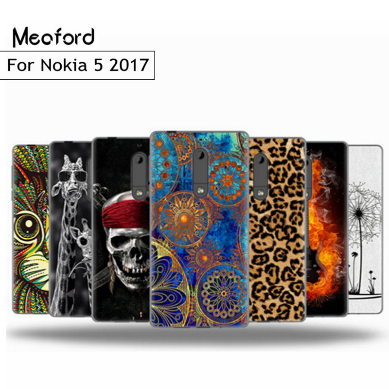 Case For Nokia <font><b>5</b></font> 2017 <font><b>Ta</b></font>-<font><b>1053</b></font> Silicon Cover For Nokia5 <font><b>ta</b></font>-1024 <font><b>5</b></font>.2