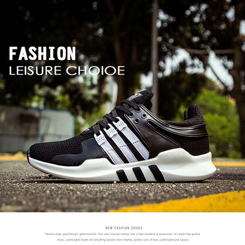 Zapatos de malla de aire respirable de los hombres jóvenes star modelos de parej