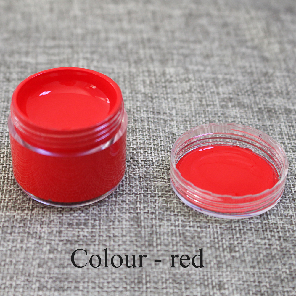 30ml Red Leather Paint Specially Used for Painting Leather Sofa, Bags, Shoes and Clothes Etc with Good Effect