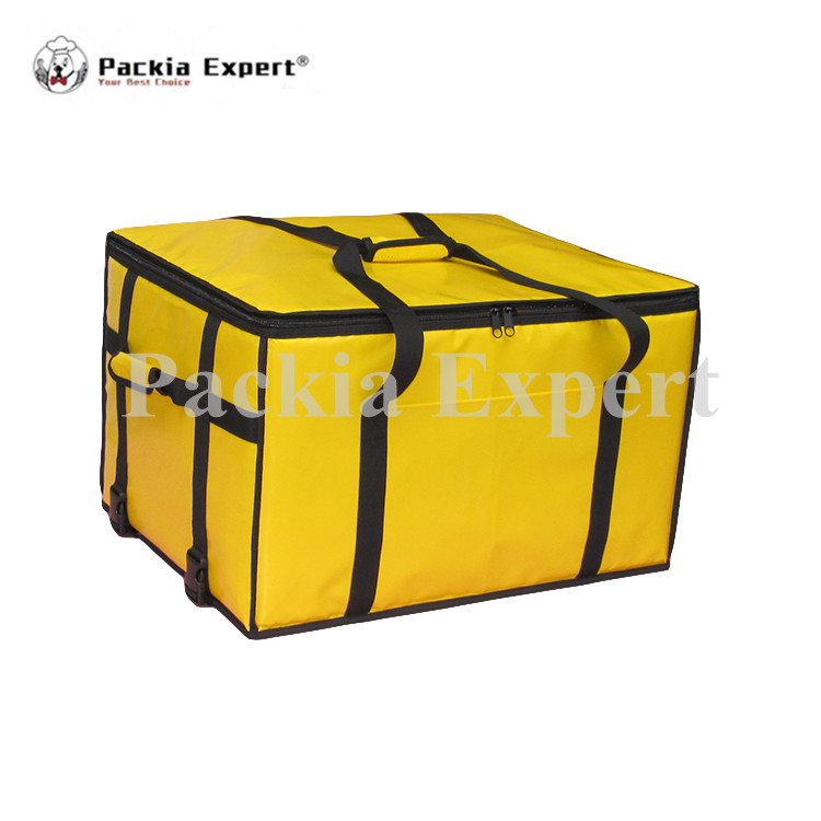 25 L x 16 W x 16 H Pizza Delivery Box, Big Pizza Delivery Bag, Catering Carrier, Motorcycle 2-Way Zipper Closure Zl-675442j security mail bag w lockable belt closure 18w x 30h