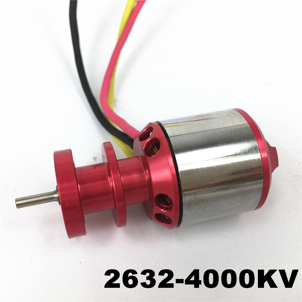 Mystery 2632 4000KV Outrunner Brushless Motor For RC Helicopter Airplane