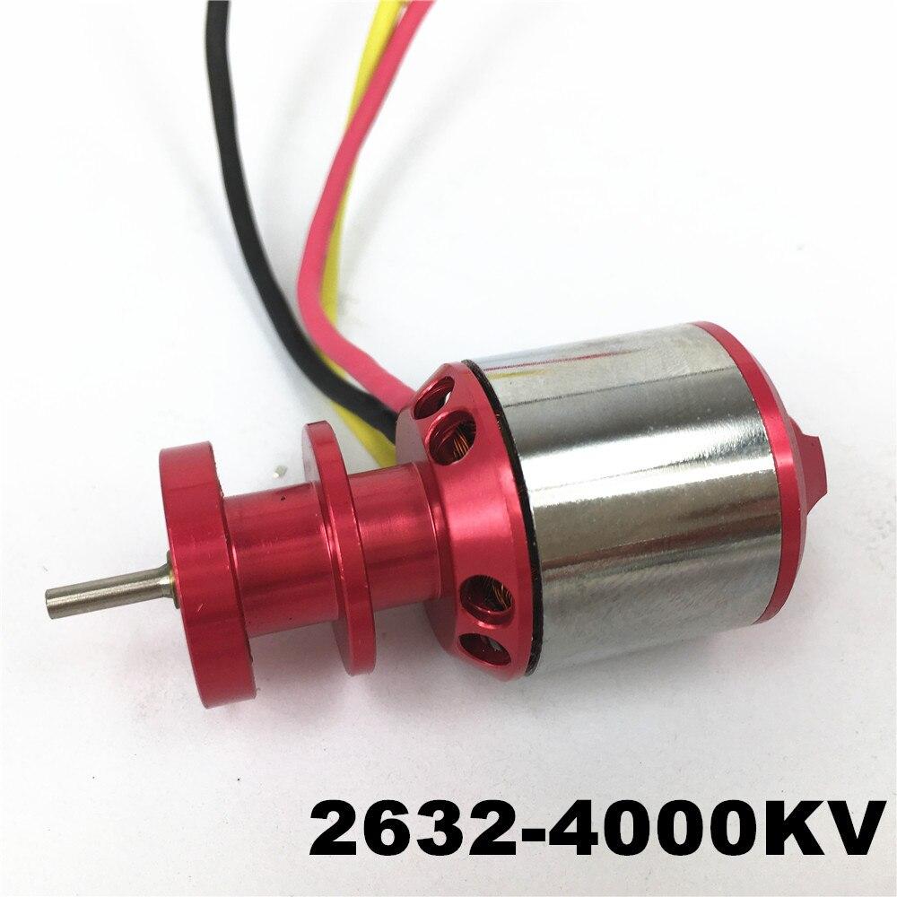 Mystery 2632 4000KV Outrunner Brushless Motor For RC Helicopter Airplane