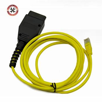 2018 nowy kabel danych ESYS dla BMW ENET Ethernet na interfejs obd E-SYS kodowanie ICOM dla f-serie kabel diagnostyczny tanie i dobre opinie latest 8inch 0 2kg Kable diagnostyczne samochodu i złącza plastic For BMW INPA K+CAN 6inch VSTM newest 4inch superior