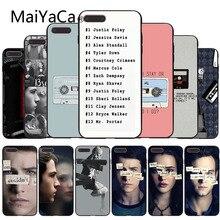 MaiYaCa для iphone 7 6 X Чехол 13 причин почему Дизайн чехол для телефона для iphone 6 6s 6plus 6s plus 7plus 8 8plus 5 5S XS XR XSMAX