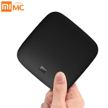 Mondial Version Xiao mi mi TV BOÎTE 3 Android 8.0 Smart Set-top 4 k Quad Core mem 8 gb Youtube Sling TV Netflix DTS Dolby IPTV(China)