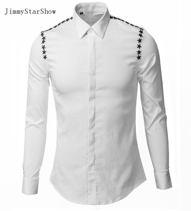 2017 New Cotton 100 Dress font b Shirts b font High Quality font b Mens b