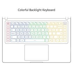 Oryginalny Xiao mi mi Ga mi ng laptopa Windows 10 Intel Core i7-8750 H 16GB pamięci RAM 512GB SSD HD mi Notebook typu C Bluetooth 3