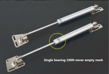 Freeshipping 2Pcs/lot Hydraulic Gas Strut Lift Support Door Cabinet Hinge spring Cover 100N