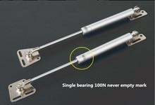 цена на Freeshipping 2Pcs/lot Hydraulic Gas Strut Lift Support Door Cabinet Hinge spring Cover 100N