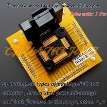 цена на NEW IC51-1284-1433-10 Test Socket TQFP128 QFP128 IC SOCKET Pitch:0.4mm