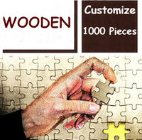 DIY Jigsaw Puzzles 1000 Pieces For Adults Customizable Puzzle Birthday Gifts Baby DIY Toys Family Portrait