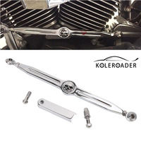Motorcycles Chrome Skull Gear Shift Lever Shift Linkage For Harley Davidson Softail Road King Electra Glide