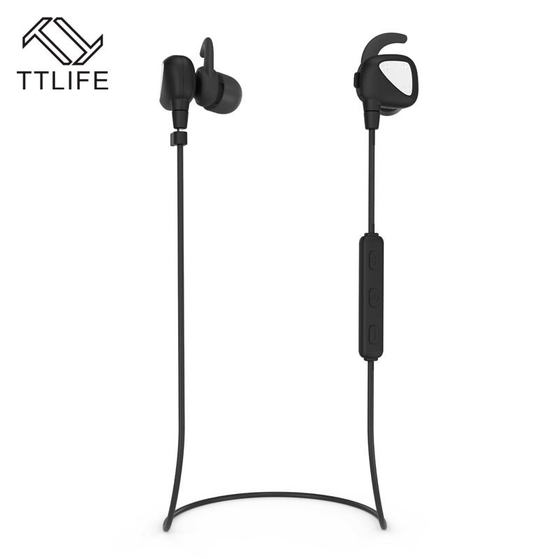 TTLIFE Sport Bluetooth 4.1 Earphone IPX4 Waterproof Headset Earhook Wireless APT-X Earphone with mic for Phones xiaomi 2017 ttlife mini wireless earphone bluetooth headsets airpods with mic 2 in 1 with car charger for iphone 7 xiaomi mobile phones
