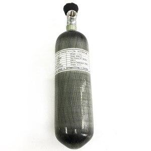 Image 5 - AC121710 2019 CE сертификация 2.17L цилиндр из углеродного волокна Пейнтбольный бак с клапаном для Pcp воздушного пистолета для охоты ВВС Pcp