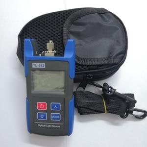 Image 1 - 무료 배송 TL512 핸드 헬드 멀티 모드 광섬유 광원 850 1300nm MM