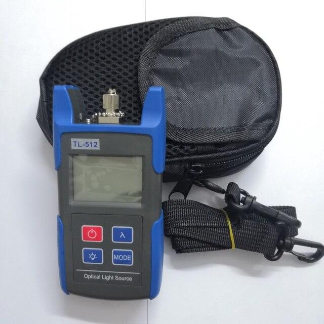 무료 배송 TL512 핸드 헬드 멀티 모드 광섬유 광원 850 1300nm MM