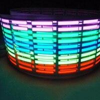 뜨거운 최고의 패션 90 센치메터 다채로운 자동차 음악 리듬 사운드 활성화 이