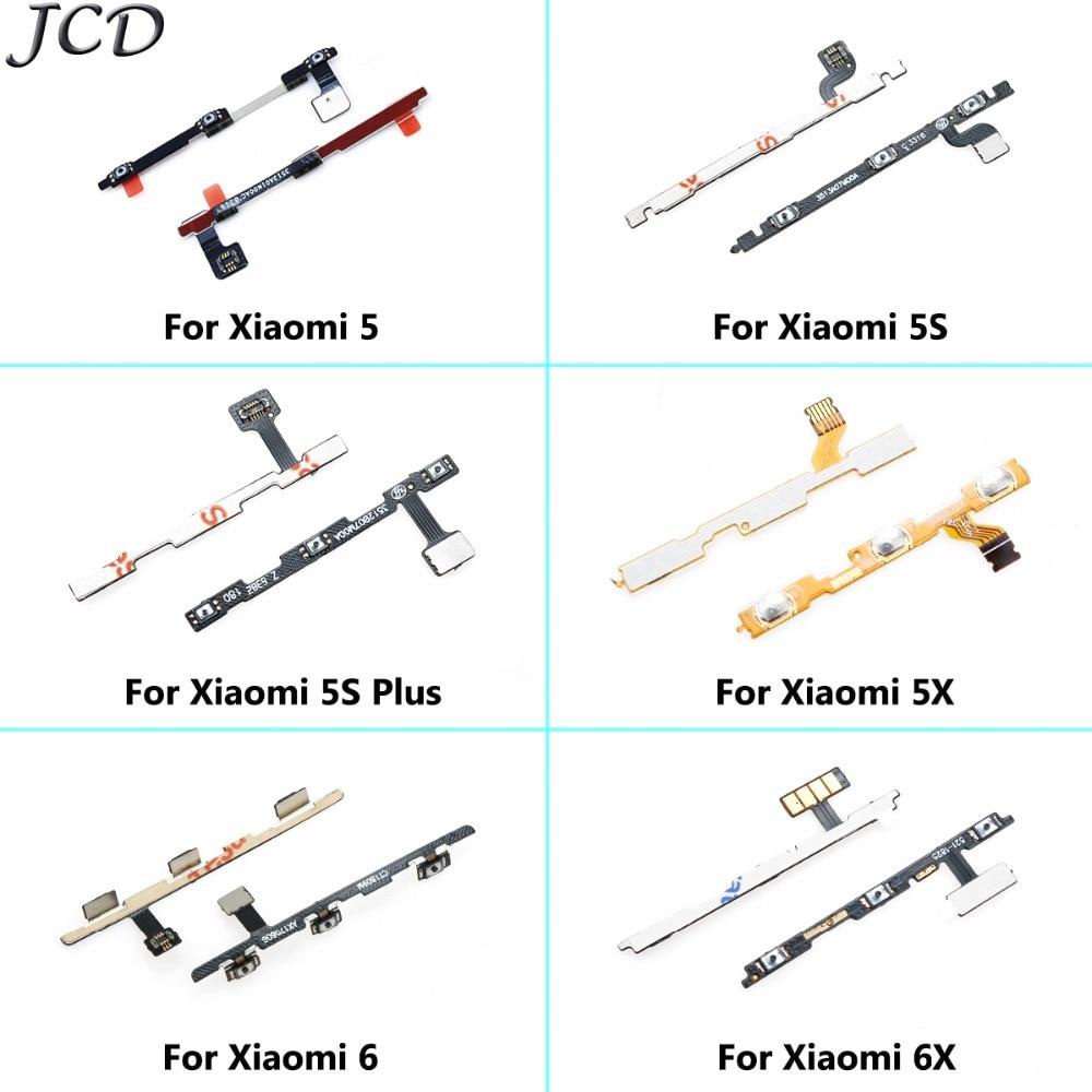 JCD For XiaoMi Mi 5 5X 5S Plus 6 6X Side Button Flex Power + Volume Button Flex Cable USB Board For XiaoMi Mi6 Mi5 Mi5S