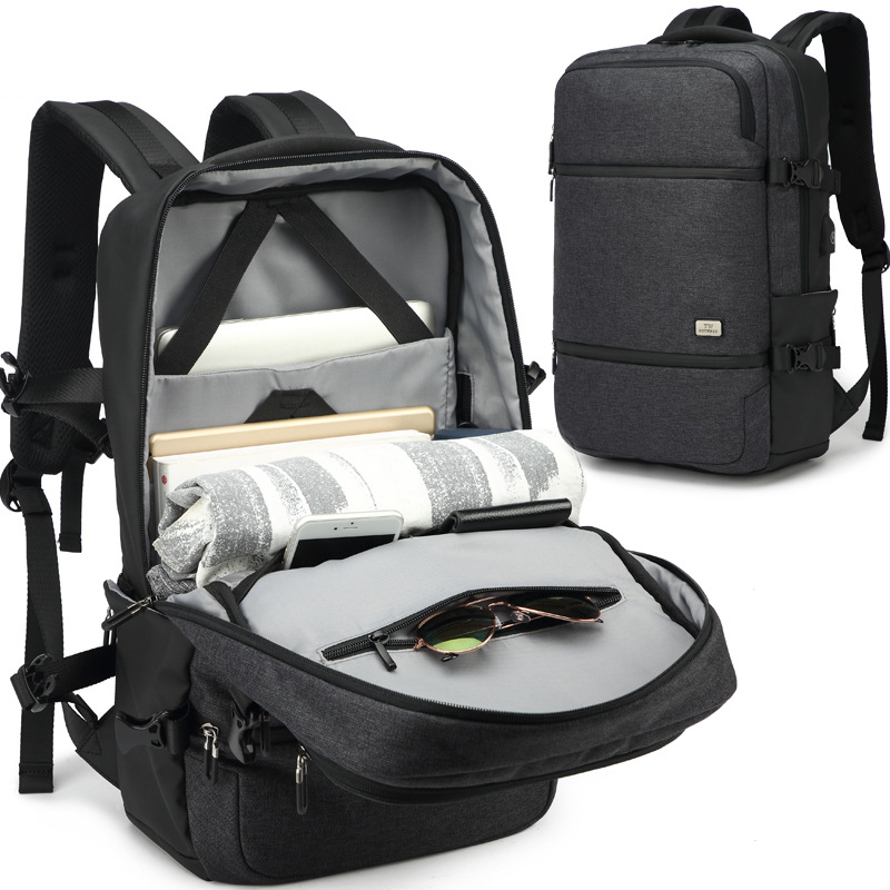 Многофункциональный зарядка через usb Для мужчин 15,6 дюймовый ноутбук рюкзаки для мальчиков-подростков модная одежда для девочек мужской ...