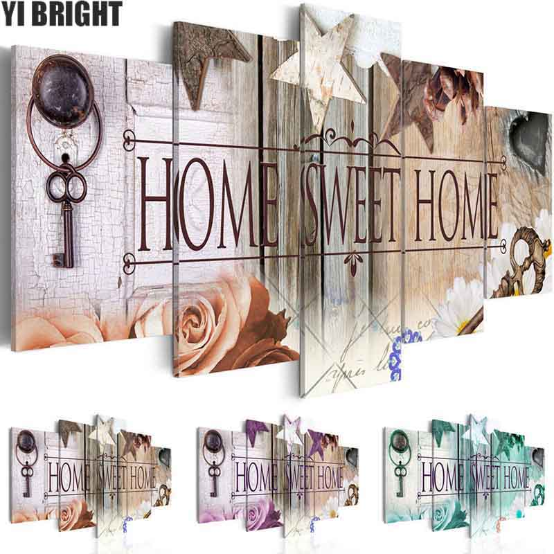 5d diy Diamond embroidery Home Sweet Home diamond painting Cross Stitch full drill Rhinestone mosaic home decoration5d diy Diamond embroidery Home Sweet Home diamond painting Cross Stitch full drill Rhinestone mosaic home decoration