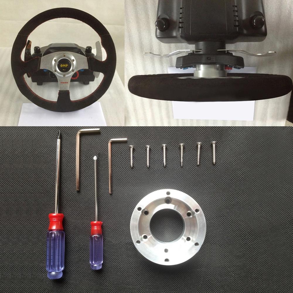 Plaque d'adaptateur de volant pour Logitech G20 G29 vis de Modification de jeu de voiture de course