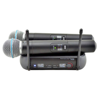 Finlemho Professional Microphone Wireless PGX282 Dynamic Vocal Home Studio Recording For Karaoke Professional Audio Mixer