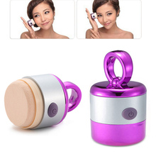 3D Electric Foundation Face Powder Vibrator Puff Sponge Cosmetic Puff Beauty Tools HS11