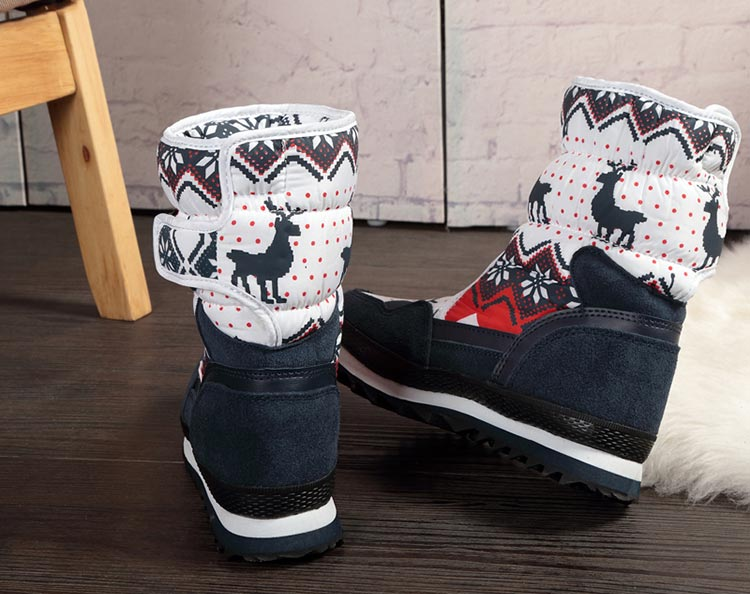 Women-winter-warm-boots-antiskid-outsole-Lady-snow-boots-navy-red-Christmas-Deer-Brand-fashion-styl-2e