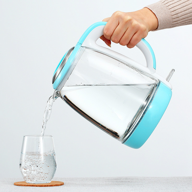 цена на Electric kettle heating household glass automatic power - off tea quick pot Overheat Protection