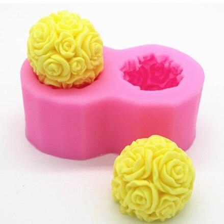 Силиконовые торт шоколадный фондан мыло формы DIY свечей силиконовые формы ...