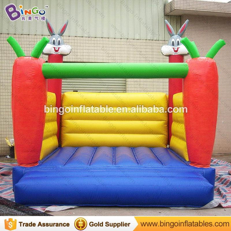 Trampoline 4 * 4 * 4M / 13 * 13 * 13ft Inflatabel Rabbit Bouncer Inflatable Trampolines Jumping Castle Outdoor Toys for Children commercial inflatable bouncer jumping bounce house inflatable trampoline with slide for party