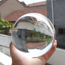 50mm Asian Rare Natural Quartz Pure Clear Magic Glass Crystal Healing Ball Sphere Home Decoration Gift Crystal Mascot Ball