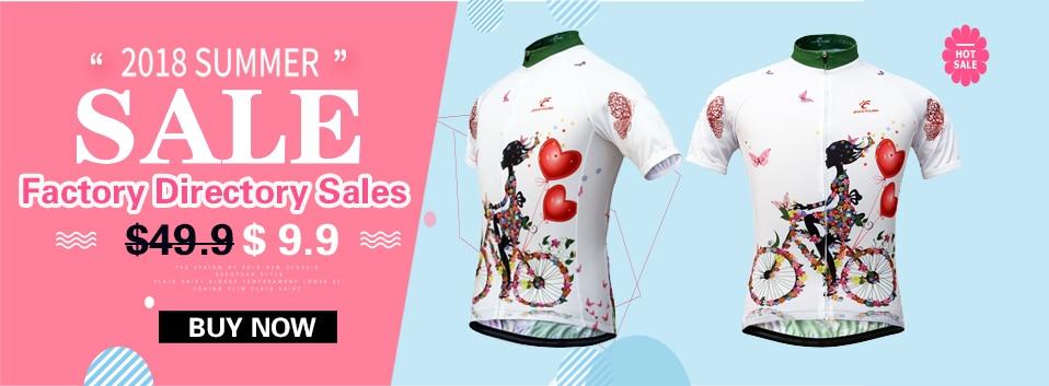 668b58d971 2018 Mulheres Camisa de Ciclismo MTB Bicicleta Jersey Respirável 100%  Poliéster Rapidamente Seco Roupas de Ciclismo Ropa ciclismo Em Tamanho  S-XXXLUSD ...