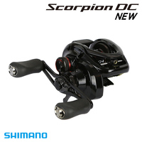 Shimano Original Scorpion DC 100 101 100HG 101HG Baitcasting Fishing Reel 215g 7+1BB 5.5kg I DC5 X SHIP Saltwater Fishing Reel