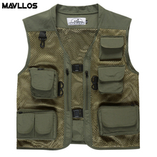 Mavllos Summer New Outdoor Fly Fishing Vest Backpack For Men Life Jacket Life Vest For Fishing Photography Vest Multi Pack Cloth
