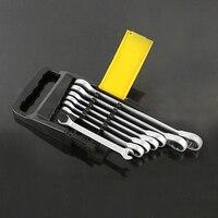 7pcs The Key Ratchet Combination Wrench A Set Of Keys Auto Repair Hand Tool For Cars Kit Automotive Tools Alet Seti Herramientas
