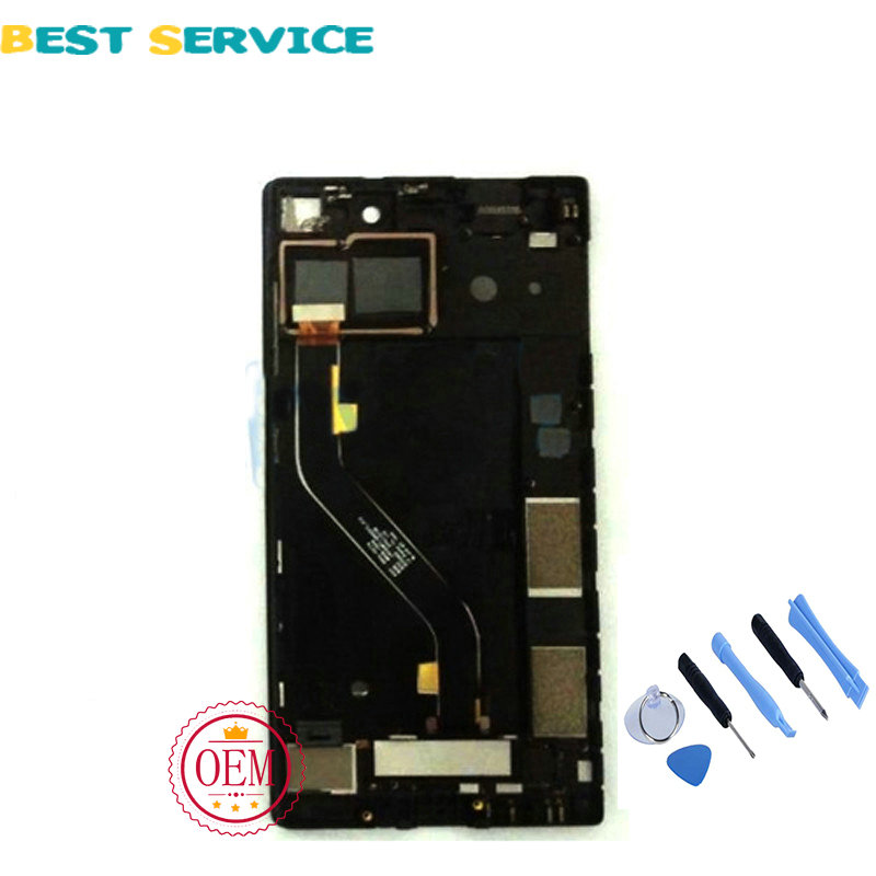 For Lenovo Vibe X2 Pro LCD Screen Display with Touch Screen Digitizer Assembly Black + Tools Free Shipping for lenovo vibe x2 pro lcd display touch screen panel with frame digitizer accessories for lenovo vibe x2 pro x2pt5 5 3 phone