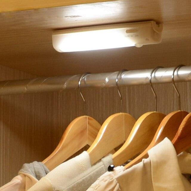 Hot upgrade USB charge night light Infrared IR Motion Sensor Light wall lamp for cabinet bedroom corridor indoor lighting