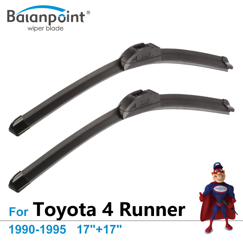 Wiper Blades For Toyota 4 Runner 1990-1995 17+17, Set of 2Pcs, Best Rated Windshield Wipers
