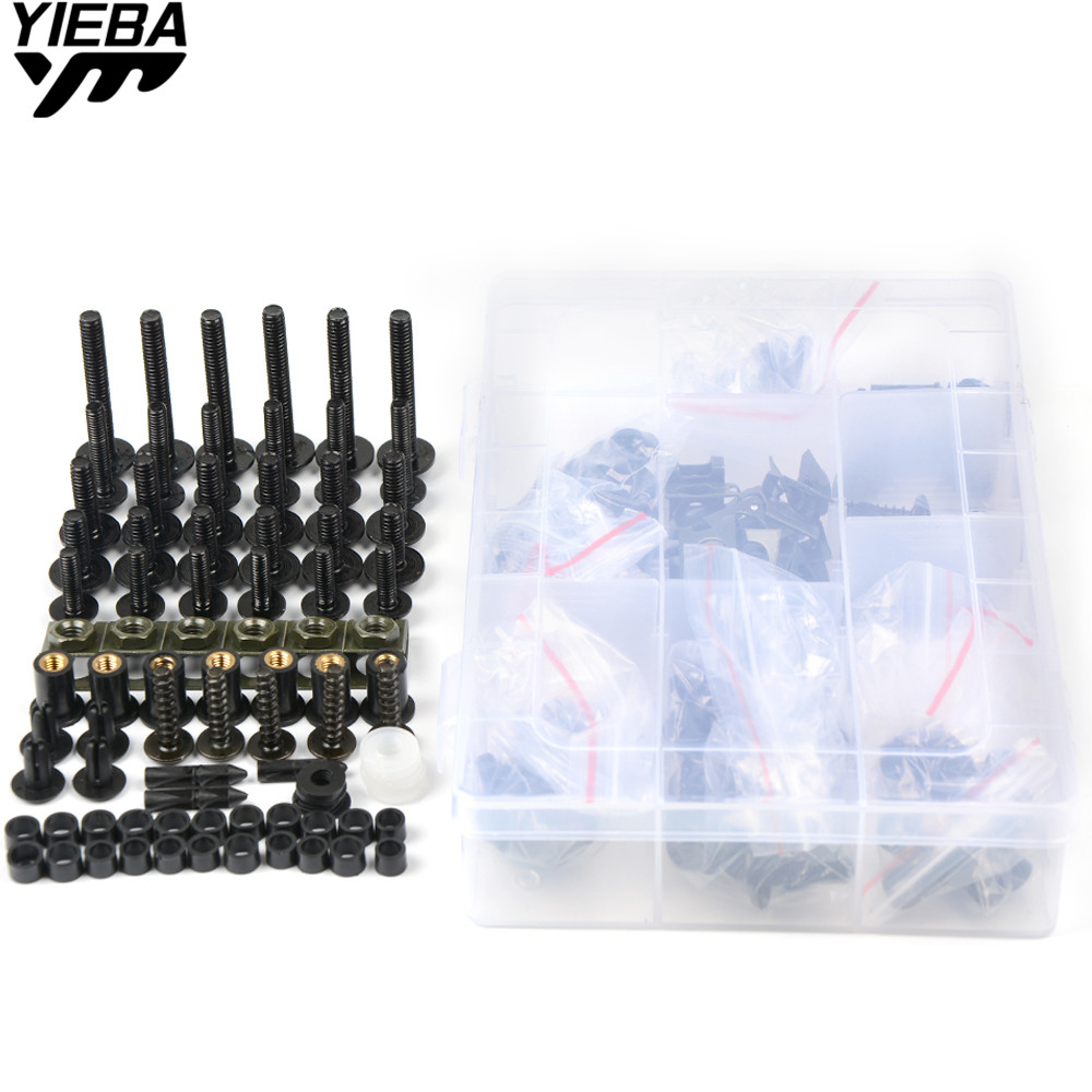 Universal Motorcycle Accessories Windshield Fairing Bolts Screws for YAMAHA FJR1300AS YZF R125 2014 FZ1 Fazer ABS