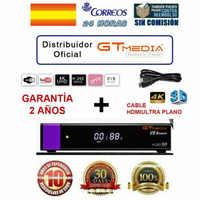 GTMedia V8 Honra Receptor de Satélite Bult-em WiFi com 2 Ano Espanha Europa Cccam Cline Full HD DVB-S2/ S mesmo como V8 NOVA CAIXA de TV