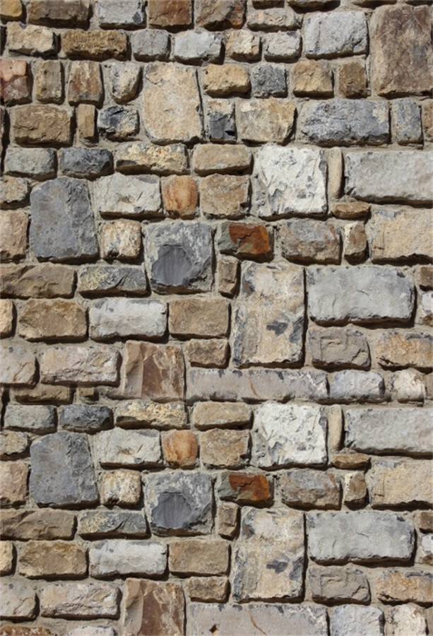 Laeacco Grunge Gray Stone Brick Wall Scene Children Photography Backgrounds Customized Photographic Backdrops For Photo Studio