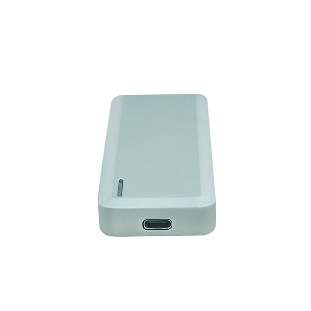 Cartão M2 NGFF USB3.1 TIPO C único invólucro de Alumínio Gabinete HDD Externo