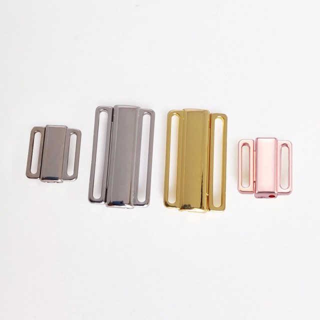 5 pcs 12mm/24mm de metal Retângulo Fita Encerramento Hook & Fecho Extensores Cintura Costura Em Roupas Bra clipe Ganchos Sutiã fivela Acessórios
