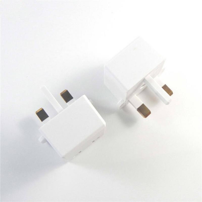 5PCS US 2 Pin To UK 3 Pin Plug Adaptor AC Power Adapter Converter Wall Charger Plug Socket in International Plug Adaptor from Consumer Electronics