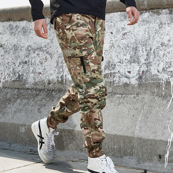 Mege Brand Men Fashion Streetwear Casual Camouflage Jogger Pants Tactical Military Trousers Men Cargo Pants for Droppshipping 5