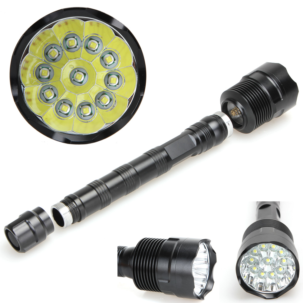 28000 Lumens 11LED 5 Mode XML T6 Super Bright Aluminum LED Flashlight Camping Lights for Outdoor Sports Hiking Fishing EA14 sitemap 32 xml page 11