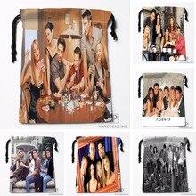 Custom Friends Drawstring Bags Printing Travel Storage Mini Pouch Swim Hiking Toy Bag Size 18x22cm#180412-11-77