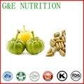 100% extrato de ervas medicin corpo magro perda de peso Garcinia Combogia Extrato da cápsula 500 mg x 300 pcs
